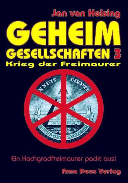 Geheim-Gesellschaften 3 - Krieg der Freimaurer (Mängelexemplar)