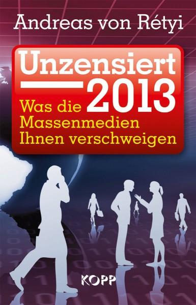 Unzensiert 2013 Cover