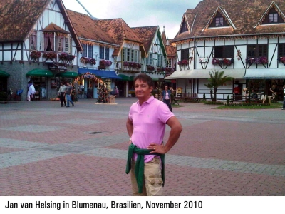 Jan van Helsing in Blumenau, Brasilien, November 2010