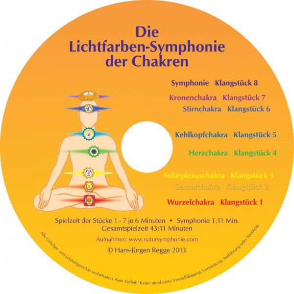 CD: Lichtfarben-Symphonie Chakren (Jewelbox)