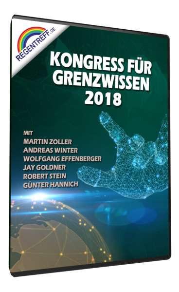 Kongress für Grenzwissen 2018 2 DVDs