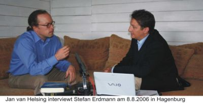 Jan van Helsing interviewt Stefan Erdmann am 8.8.2006 in Hagenburg