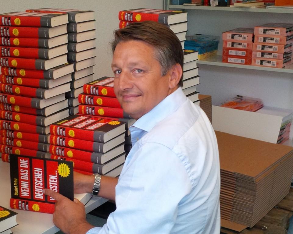 Jan van Helsing signiert Daniel Prinz Buch